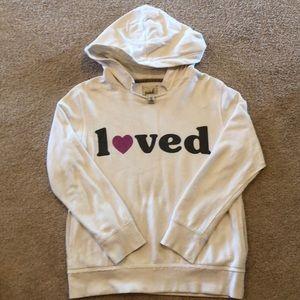 Girls XL (10) PEEK Loved Sweatshirt